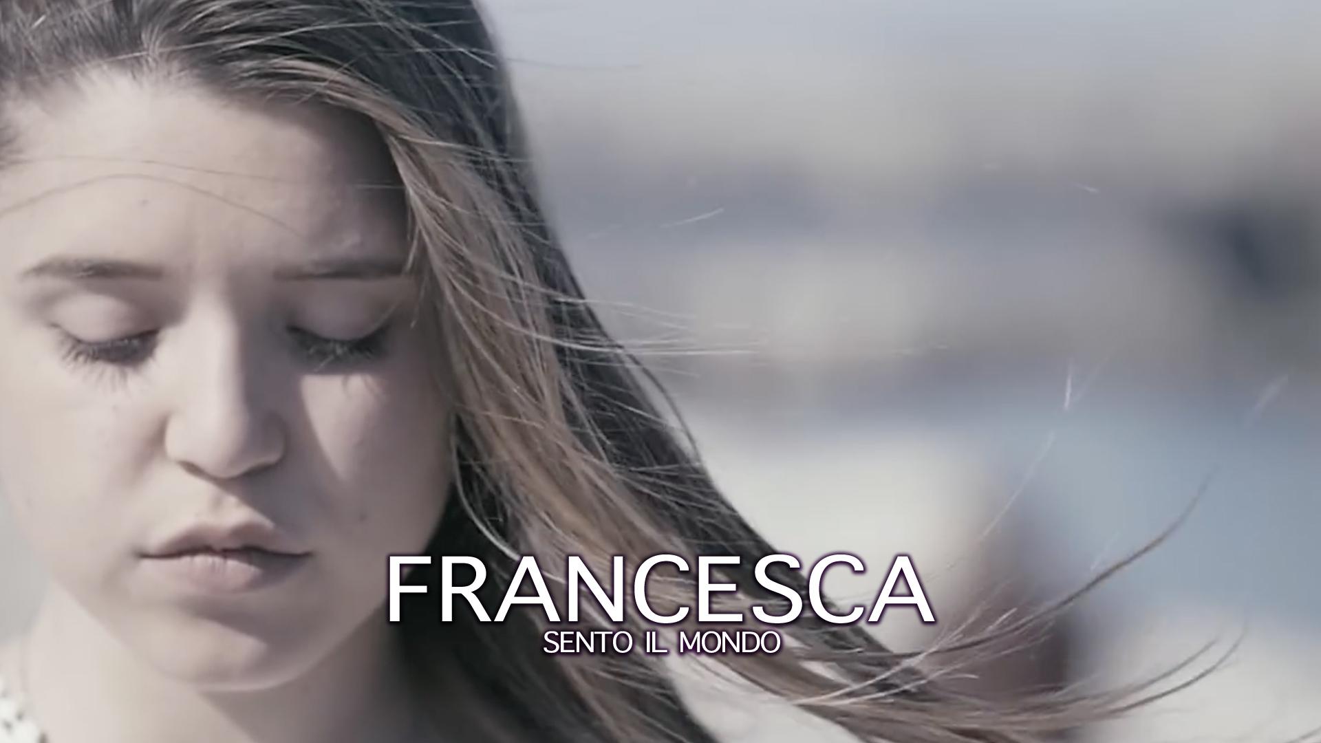 Copertins video Francesca sento il mondo